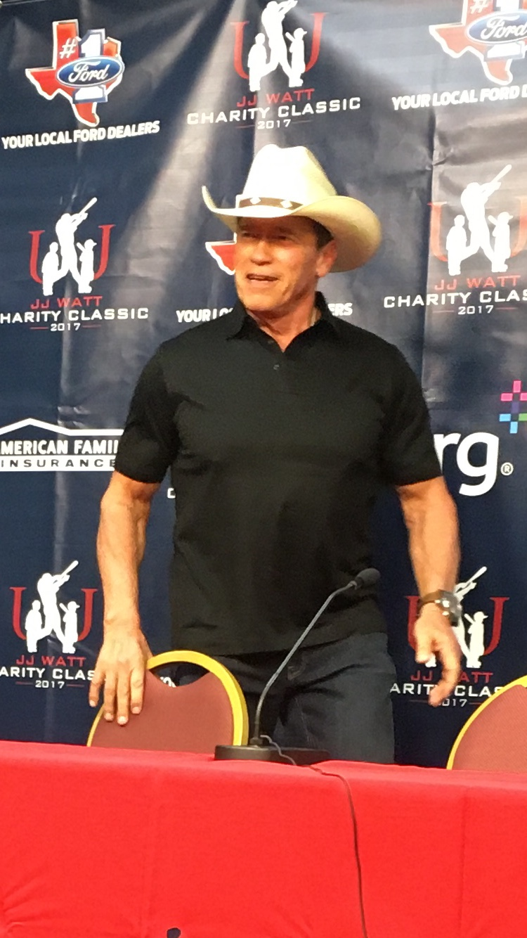 Arnold Schwarzenegger… Governor, Terminator, Mr. Olympia, Entrepreneur…. Helping Kids in Need
